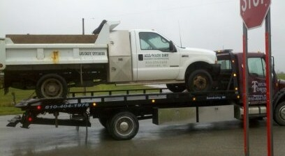 Sandusky towing company hauling and tow truck service